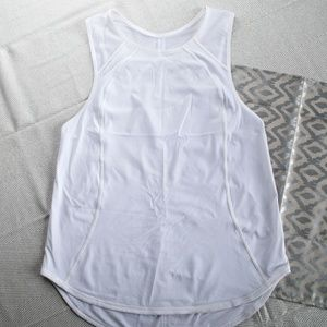 Lululemon White Tank Size 8